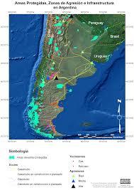 Map Argentina Impressum