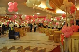 beautiful first birthday decoration at luxury article happy party