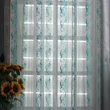 turquoise sheer curtains teawing co Turquoise Sheer Curtains