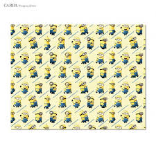 minion wrapping paper minion christmas wrapping papers happy holidays