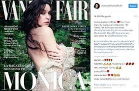 Monica Bellucci Vanity Fair Monica Bellucci Posa En Para Vanity Fair A Sus 52 Años Cine