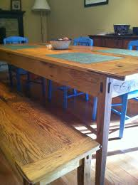 Salvaged Wood Dining Room Tables by Minimalist Dining Room Design With Reclaimed Wood Dining Room