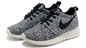 rosch runs womens nike roshe run floral print black white 46 00