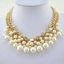 new necklace design images Latest pearl necklace design latest gold and platinum jewellery jpg