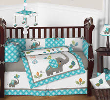 Moon And Stars Crib Bedding Blue White Stars Moons Baby Crib Bedding Set For Newborn Boy Sweet
