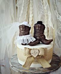 cowboy boots wedding cake topper western themed wedding