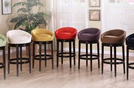 Bar Height Kitchen Island Sustained Swivel Bar Chairs Tags Fabric Bar Stools Stools Height