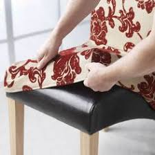 seat covers for dining room chairs dining chair seat slip cover with button tabs instead of ties