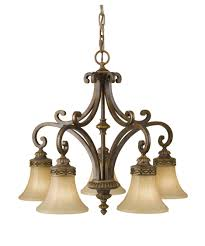 Murray Fiess Lighting Murray Feiss F2397 5 Drawing Room 25 Inch Wide 5 Light Chandelier