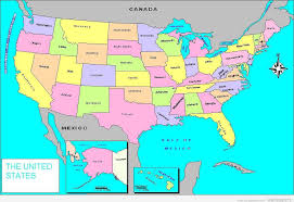 map usa states 50 states with cities map usa states and capital cities