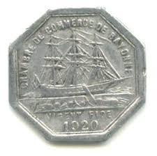 chambre du commerce bayonne 25 centimes bayonne notgeld numista chambre de commerce de