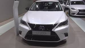 lexus ct 200h lexus ct 200h executive line 2016 exterior and interior in 3d