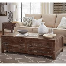 Coffee Table With Drawers by Occasional Tables Costco