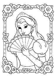 coloriage virtuel princesse