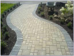 stone paver patio patterns patios home decorating ideas