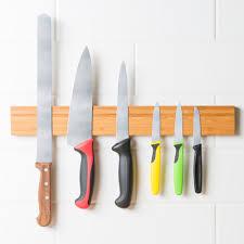kitchen knives holder mercer culinary m30731bm 18 bamboo magnetic knife holder