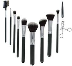 icini synthetic makeup brush set 11 piece grey see this great