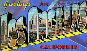 greetings from california vintage postcards click americana