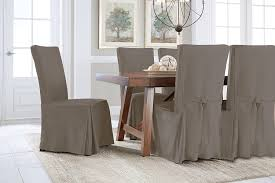 amazon com serta relaxed fit smooth suede furniture slipcover for amazon com serta relaxed fit smooth suede furniture slipcover for regular dining chair grey home kitchen