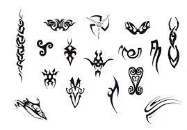 tribal design img19 tribal flash tatto sets