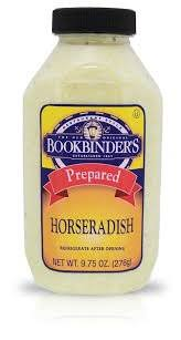 what is prepared horseradish bookbinders prepared horseradish 9 75 oz pack of 2