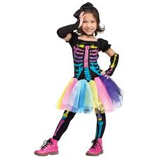 childs halloween costumes amazon com funky punk skeleton toddler costume toys u0026 games