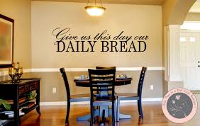 Dining Room Decals Kitchen Decor Kitchen Wall Decal Christian Wall Decal