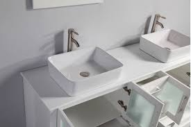 Double Sinks Bathroom Sink Custom Bathroom Vanities Double Sink Square Vessel
