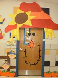 Frankenstein Door Decoration Scarecrow Fall Classroom Door Decoration