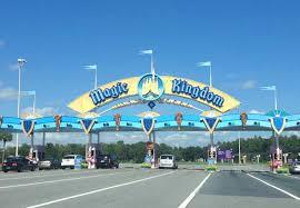 themes in magic kingdom walt disney world parking