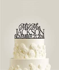 custom wedding cake toppers and groom custom wedding cake topper personalized monogram cake topper