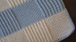 crochet pattern for baby blue afghan