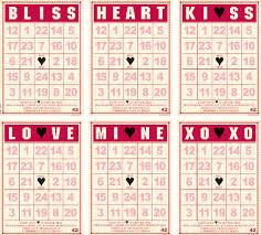 valentines bingo bowlin studio mini bingo cards