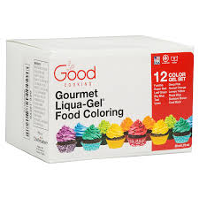 amazon com food coloring liqua gel 12 color variety kit in 75