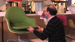 the eames loose cushion arm chair youtube