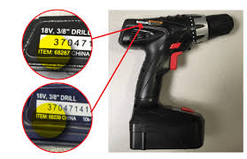 harbor freight tools recalls cordless drills due to fire and burn