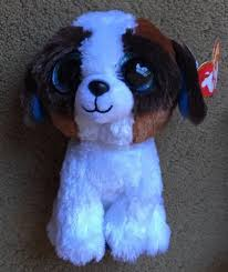 ty beanie boo puppy power bite pack whiskers long hair