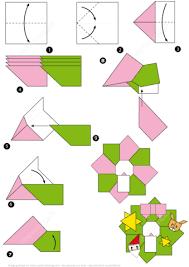 origami christmas wreath tutorial free printable papercraft