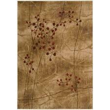 6 X9 Area Rug Nourison Somerset Latte 5 Ft 6 In Area Rug 020734 The