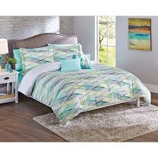 Better Homes Comforter Set Better Homes And Gardens Cascading Waves 5 Piece Comforter Set