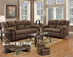 Sofa And Recliner Aruba Chocolate Modern Reclining Sofa Loveseat Set W Options