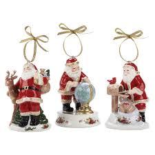 product reviews royal albert set of 3 santas christmas ornaments