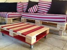 Shipping Crate Coffee Table - home design trendy couch made with pallets pallet sofa 3 home