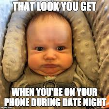 Baby Face Meme - funny baby face meme that look you get when you re on your phone