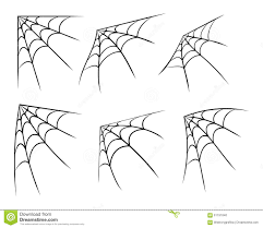 halloween white background halloween corner spider web cobweb symbol icon set vector