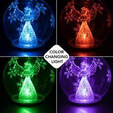 glass light ornaments ebay