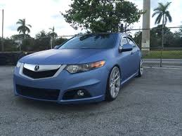 jdm acura tsx intack signs and wraps acura tsx color change wrap