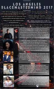 los angeles black mastermind 2017 u2013 prince u0027s daily journal