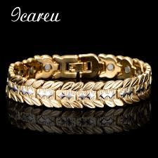 magnetic gold bracelet images Wholesale health magnetic bracelet bangle for men dubai wheat jpg
