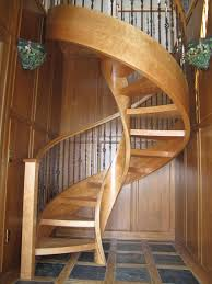Spiral Staircase Handrail Covers Beautiful Spiral Staircase With Landing Rails In Living Room